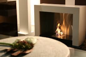 nice white modern ethanol fireplace ideas with appealing gas