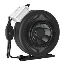 suncourt 6 inline duct fan 6 inch 110vac 250 cfm inline duct booster fan the best fan of 2018
