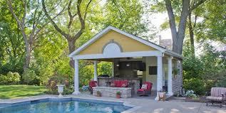 Cabana Ideas For Backyard Pool Houses U0026 Cabanas Landscaping Network