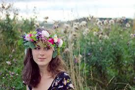 floral headdress floral crowns ferrebeekeeper