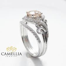 morganite engagement ring white gold 14k white gold engagement rings white gold morganite ring
