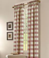 Austrian Shades Ready Made by Rod Pocket Curtains Drapes Greenwich Plaid Lined Curtains