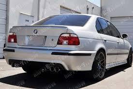 bmw e39 rear carbon fiber 96 03 bmw e39 5 series m5 only 4dr rear bumper