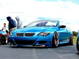 bmw m6 modified slammed bmw m6 convertible at first class fitment mind over motor