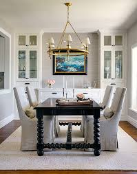 dining room with built in storage provides a focal point dining
