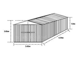box auto in lamiera zincata prezzi box prefabbricato casetta in lamiera zincata a sassari kijiji