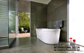 Bathroom Ideas Modern Exellent Modern Bathroom Tile Ideas Tub Whirlpool On