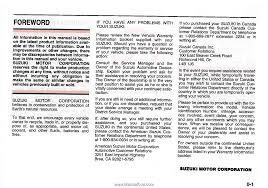 2006 suzuki aerio owner u0027s manual