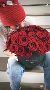 valentines day roses look sofia richie thanks disick for s day roses