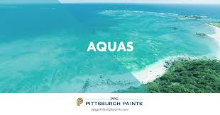 ppg pittsburgh paints aqua paint colors