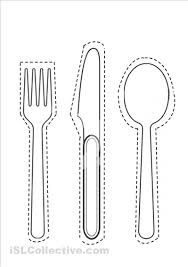 kitchen forks and knives large spoon cut out images 2nd grade self esteem