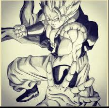 dragon ball drawings pencil drawing examples drawing