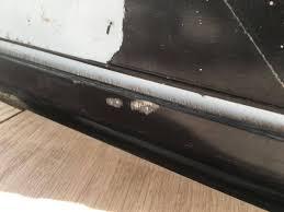 repair touching up black aluminium window frame home loversiq