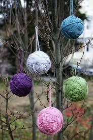 tutorial yarn ornaments sew wrong