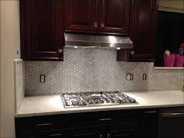 Gray Backsplash Kitchen Kitchen Gray Cabinets White Appliances Buy Kitchen Backsplash