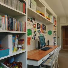 Bookshelves And Desk Built In by 28 Best Home Office Images On Pinterest Office Ideas Built In