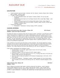 Resume Examples Byu by May 2016 Richard Bue Hockey Cv