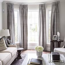 Grey Cream Curtains Extraordinary Living Room Curtains With Attached Valance Brown