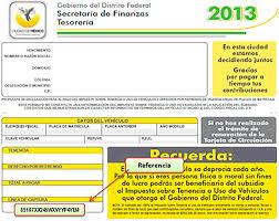 pago de tenencia 2014 df en enero se podrán aprovechar los beneficios fiscales para