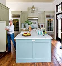 turquoise kitchen island 67 best colored kitchen islands images on