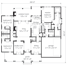 Level Floor Main Level Floor Plan House Plans For The Future Pinterest
