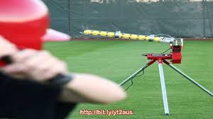heater trend sports baseball pitching machine with bonus bal