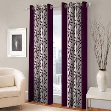 homeshop18 home decor jbg home store set of 3 door curtains u0026 set of 5 cushion cover