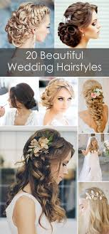 beautiful wedding 20 creative and beautiful wedding hairstyles for hair