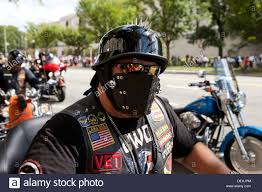 motorcycle riding leathers harley davidson motorcycle rider wearing leather mask stock photo