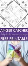 help kids manage anger free printable game