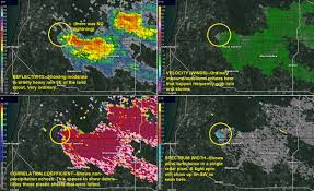 Radar Map For Michigan by Landspout U201d Tornado In W Michigan Woodtv Com