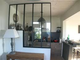 cloison vitree cuisine separation cuisine salon vitree une cuisine ouverte avec une
