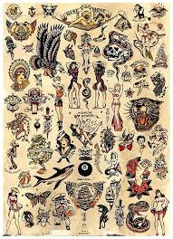 salior jerry tattoos clipart library