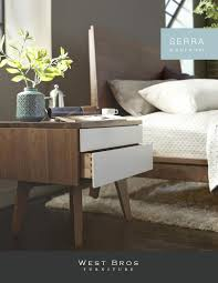 furniture catalog serra bedroom collection catalog by west bros furniture issuu