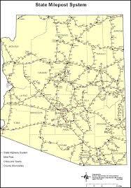 map of az road map of arizona map of usa states