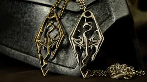 skyrim pendant necklace images Geekify dragonborn skyrim pendant of the imperial legion gold jpg