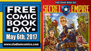 unboxing free comic book day 2017 at stadium comics see all the
