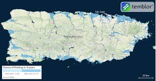 Show Map Of Puerto Rico by Flooding In Puerto Rico Exacerbated Hurricane Maria Damage
