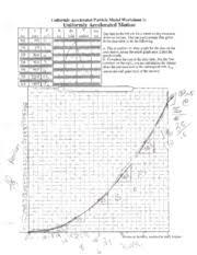 p20 uniformly accelerated particle model worksheet 1 a uniform
