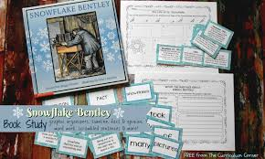 snowflake bentley book study snowflake bentley the curriculum corner 123