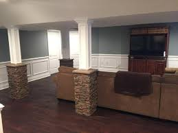 basement column wrap ideas over on dover a post about a post