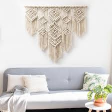 large macrame wall hanging macrame curtains macrame wall zoom
