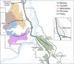 Map Of Fort Mcmurray Winter Maintenance Zones