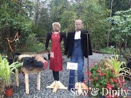 Wacky Garden Ideas 33 Cool Scarecrow Ideas