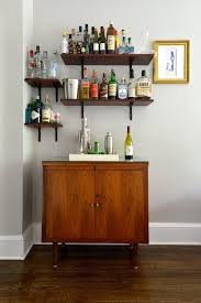 Floating Bar Cabinet Heidi S Stylish Reinvention Home Bar Shelves For Liquor
