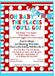 Dr Seuss Baby Shower Invitation Wording - dr seuss inspired baby shower invitation bretlynn u0027s baby shower