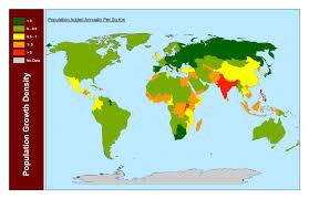Population Density World Map by World Population Growth Density 3264x2112 Oc Mapporn