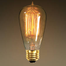 40 watt edison bulb 5 2 in length vintage light bulb