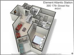 Atlanta Flooring Charlotte Nc by Element U0027s Largest 1 Bedroom