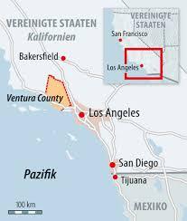 Tijuana Mexico Map Bilderstrecke Zu Kalifornien Winde Fachen Feuer Weiter An Bild